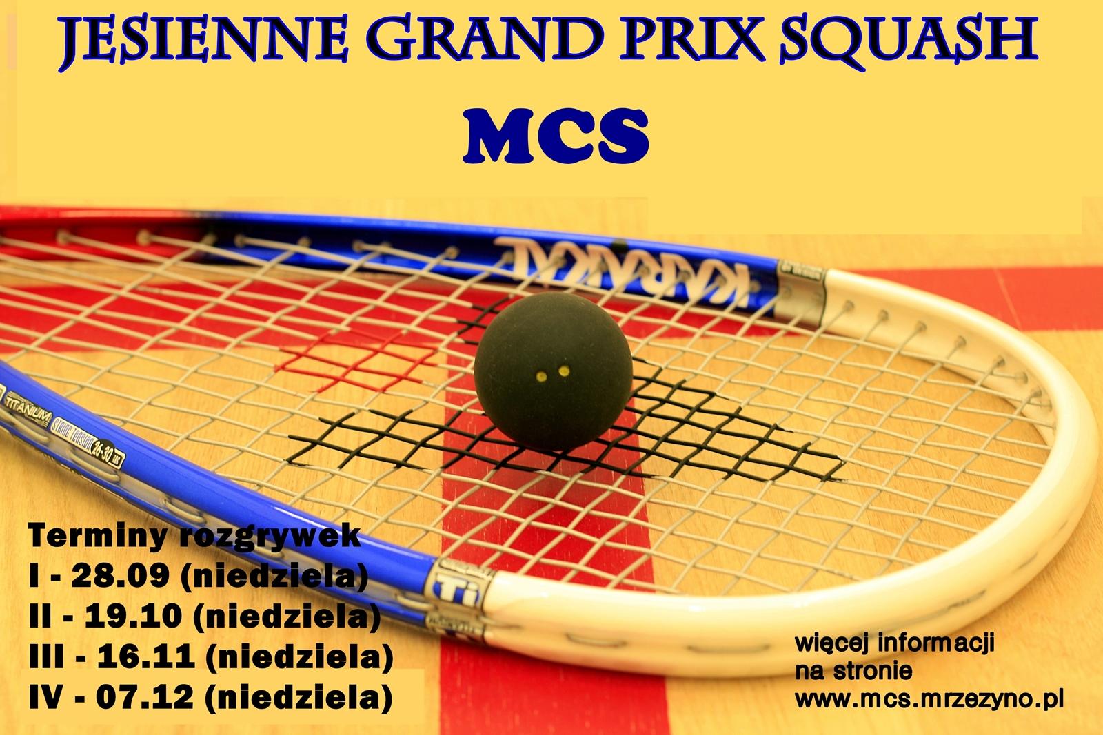 Jesienne Grand Prix Squash w MCS